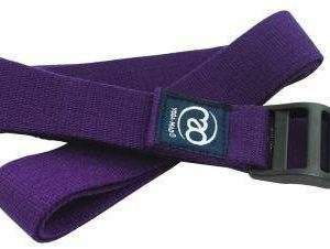 Fitness Mad 2m Yoga Belt Purple with Cinch by Podium 4 Sport