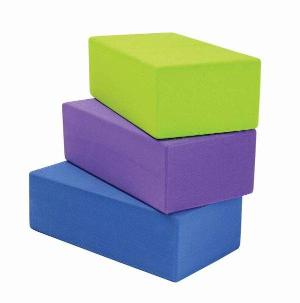 Fitness Mad Hi-Density Yoga Brick by Podium 4 Sport